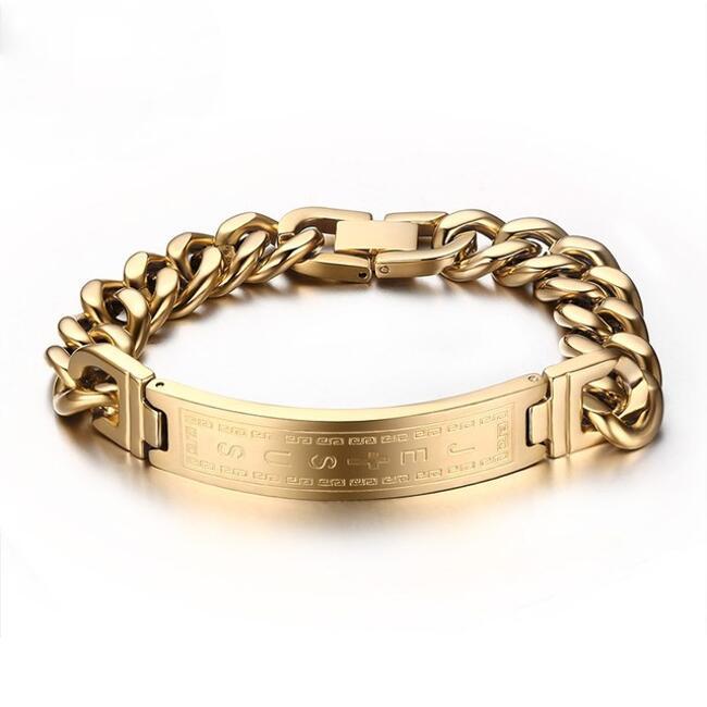 Echt Gold Armband Herren