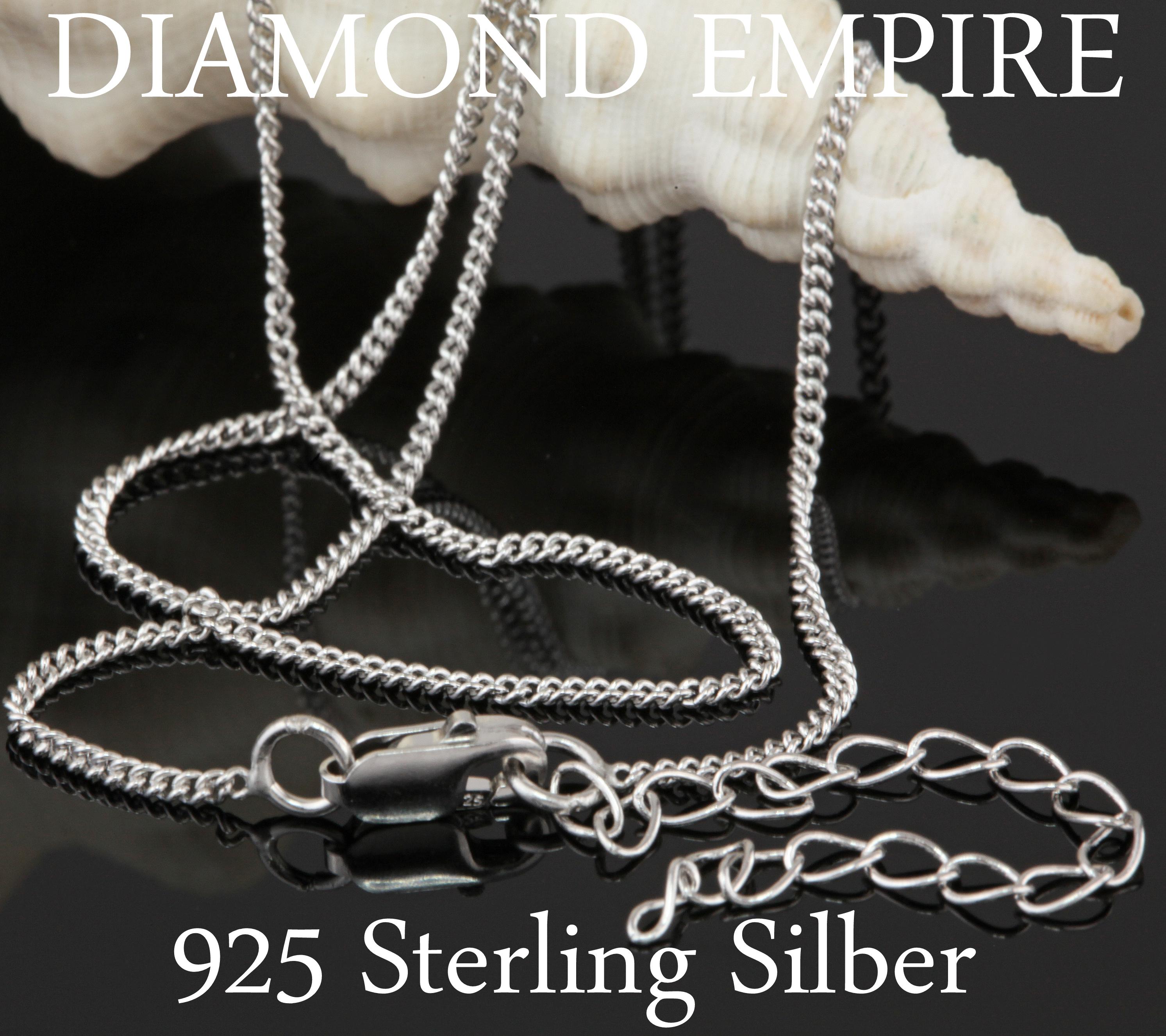 NEU 3 mm Damen Kugelkette 925er echt Silber 45 cm Halskette Kette rhodiniert