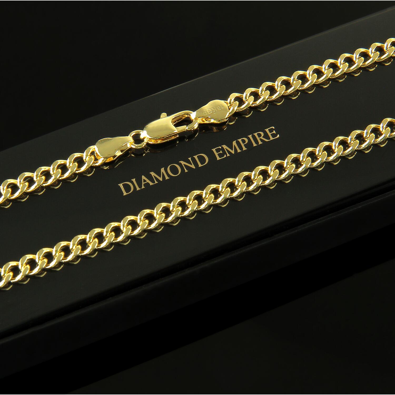 Tennisarmband 7 mm Zirkonia weiß Echt 750er Gold 18K vergoldet rosegold B3042S